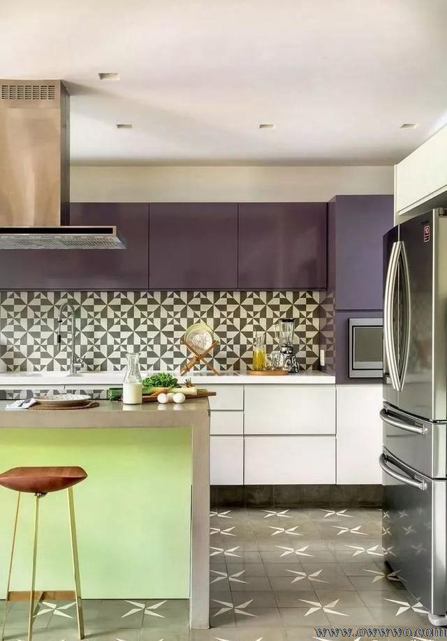 鲁班装饰公司推荐最受欢迎的厨房地砖铺贴攻略