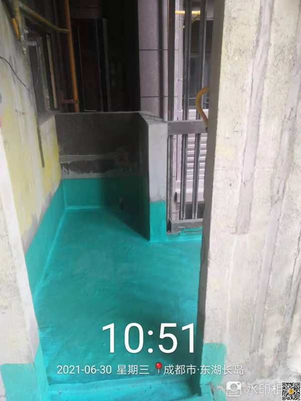 东湖长岛144平米户型装修施工工地现场照片