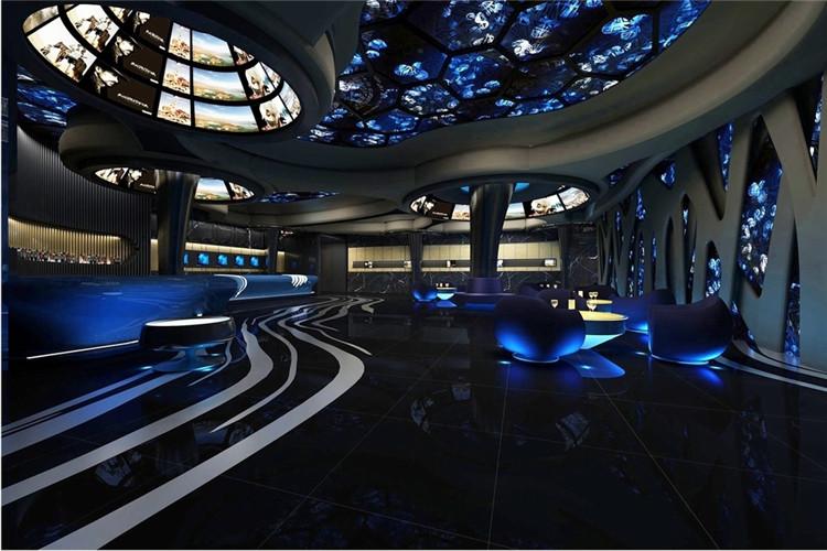 成都锦江区娱乐会所地中海风格装修案例实拍