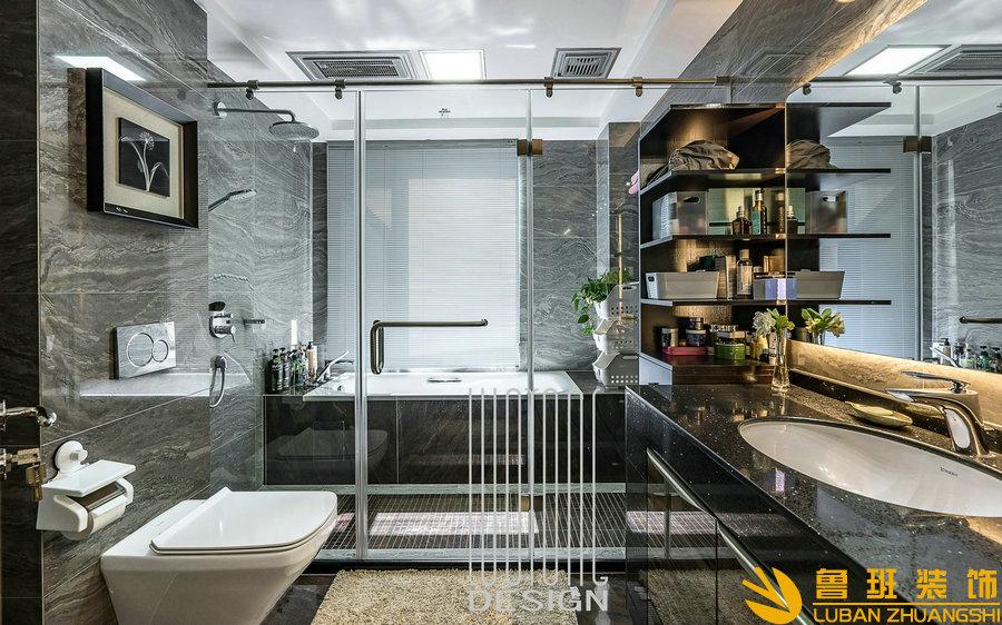 成都别墅装修公司分享卫生间装修干湿分离的好处
