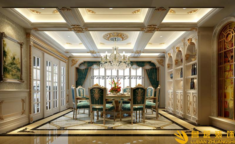 客厅一般装什么样的灯?鲁班装饰成都别墅装修公司告诉你